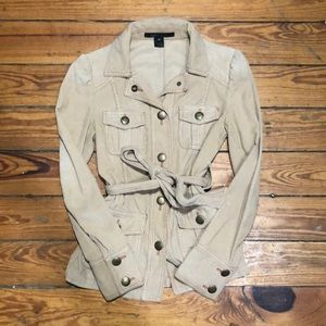 Marc Jacobs XS Belted Corduroy Safari Trench